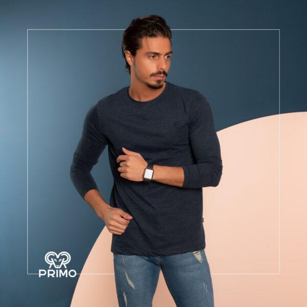 تیشرت پنبه مردانه مدل آستین بلند 513201