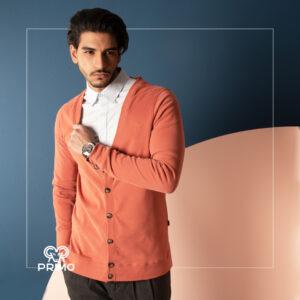 ژاکت تریکو مردانه مدل شش دکمه