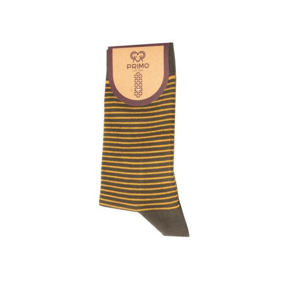 جوراب ساق بلند مردانه مدل رینگردار 98000304